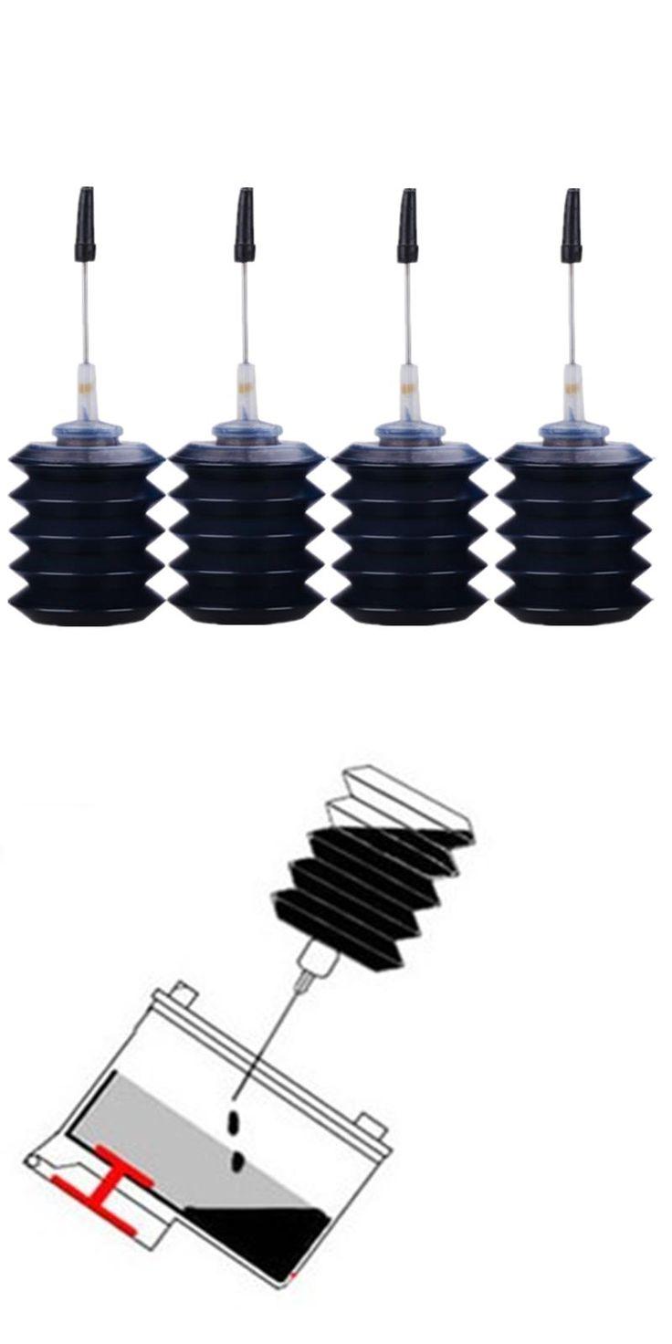 [Visit to Buy] 4 Black Printer ink for Inkjet Printer for Epson Canon HP Brother Desktop Printer #Advertisement