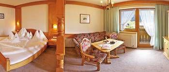 Einraumappartement mit Vorraum für 2 bis 4 Personen