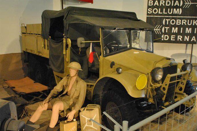 Kudy z nudy - Vojenské technické muzeum v Lešanech