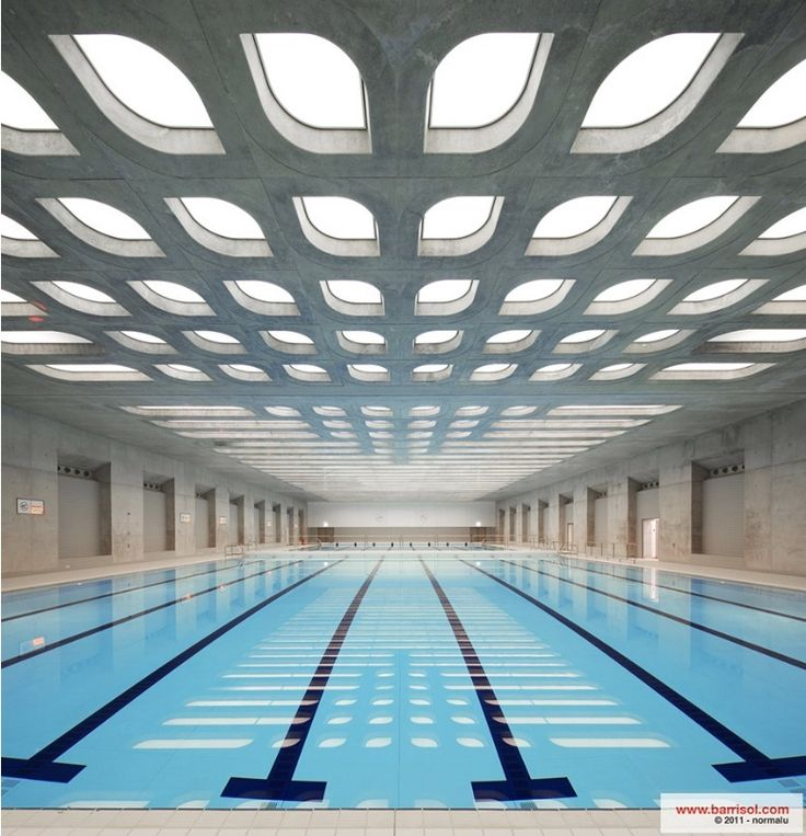 Barrisol Oly2 -London Aquatics centre for the 2012 summer Olympics