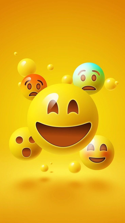 Emojis Background Elegant Wallpaper Iphone Asª Smileys Pinterest Click Here To Download Cute Wal Emoji Wallpaper Iphone Wallpaper Iphone Cute Emoji Wallpaper