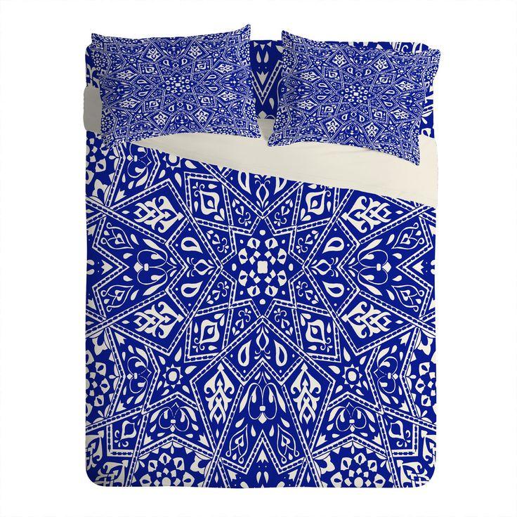 Aimee St Hill Amirah Blue Sheet Set Lightweight   DENY Designs Home Accessories