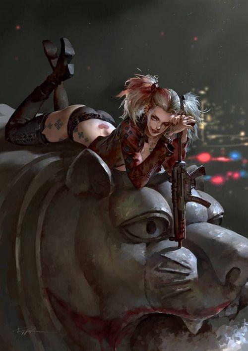 Harley byPuppeteer Lee http://ift.tt/2dg5c0h