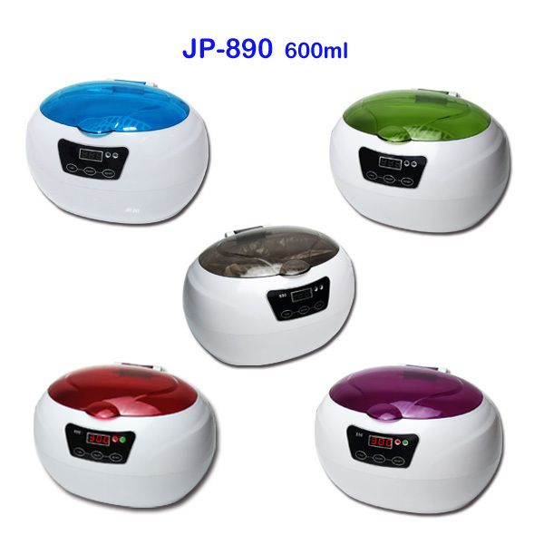 NEW STYLE CE RoHS FCC certificates 600ml ultra sonic jewelry cleaner denture/watch/eyeglasses Ultrasonic cleaner