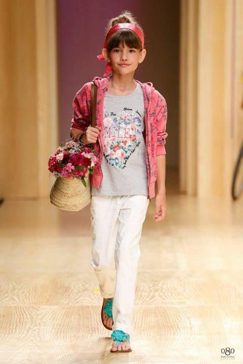 Nadia de Sugar Kids Desfile 080 Barcelona Fashion | SUGAR ...