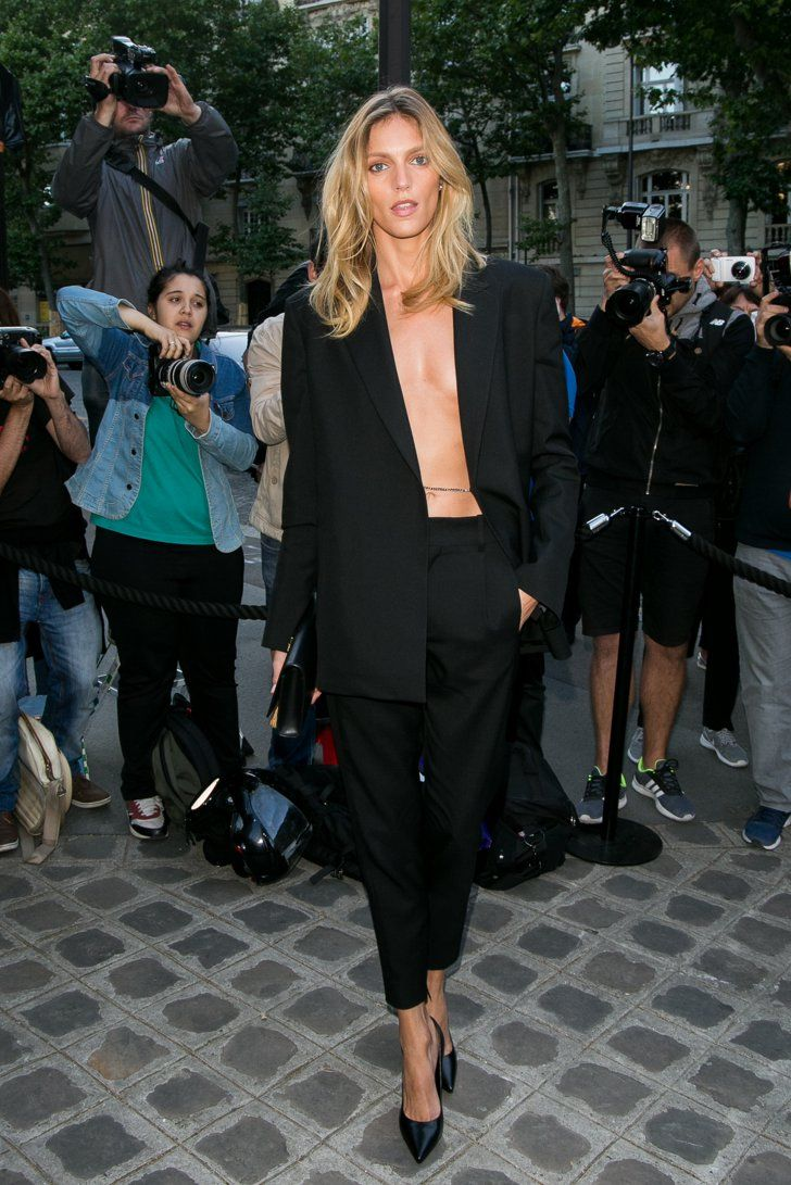 Pin for Later: Le Troisième Gala de la Vogue Paris Foundation Attire les Plus Grands Noms de la Mode Anja Rubik