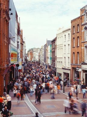 A non-touristy guide to Dublin - Don't: Bother with Grafton Street