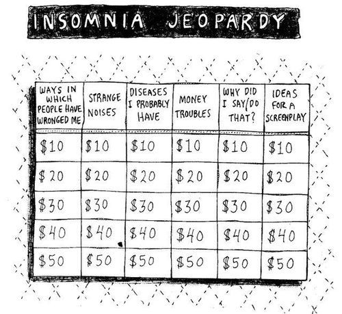Clever Jeopardy Categories: 115 Best Insomnia Images On Pinterest