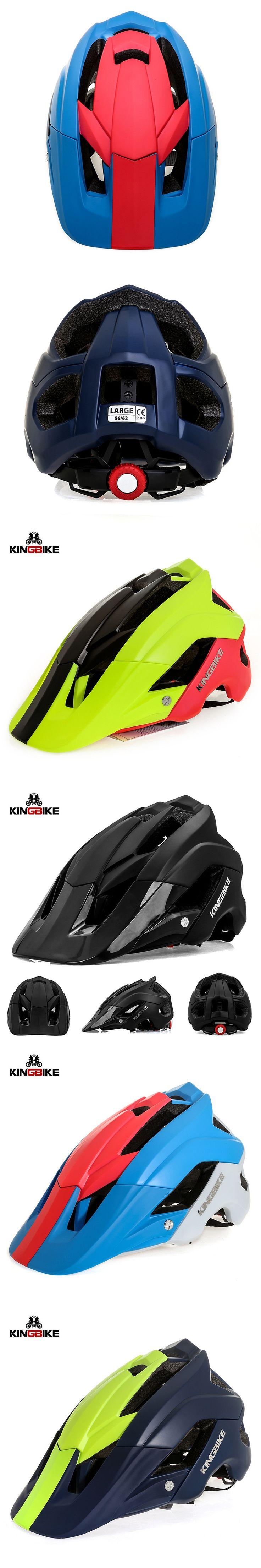 KINGBIKE MTB Road Cycling Helmet Integrally-molded Men Women Bicycle Helmets Capacete Casco Ciclismo Bike Helmets Safely Cap