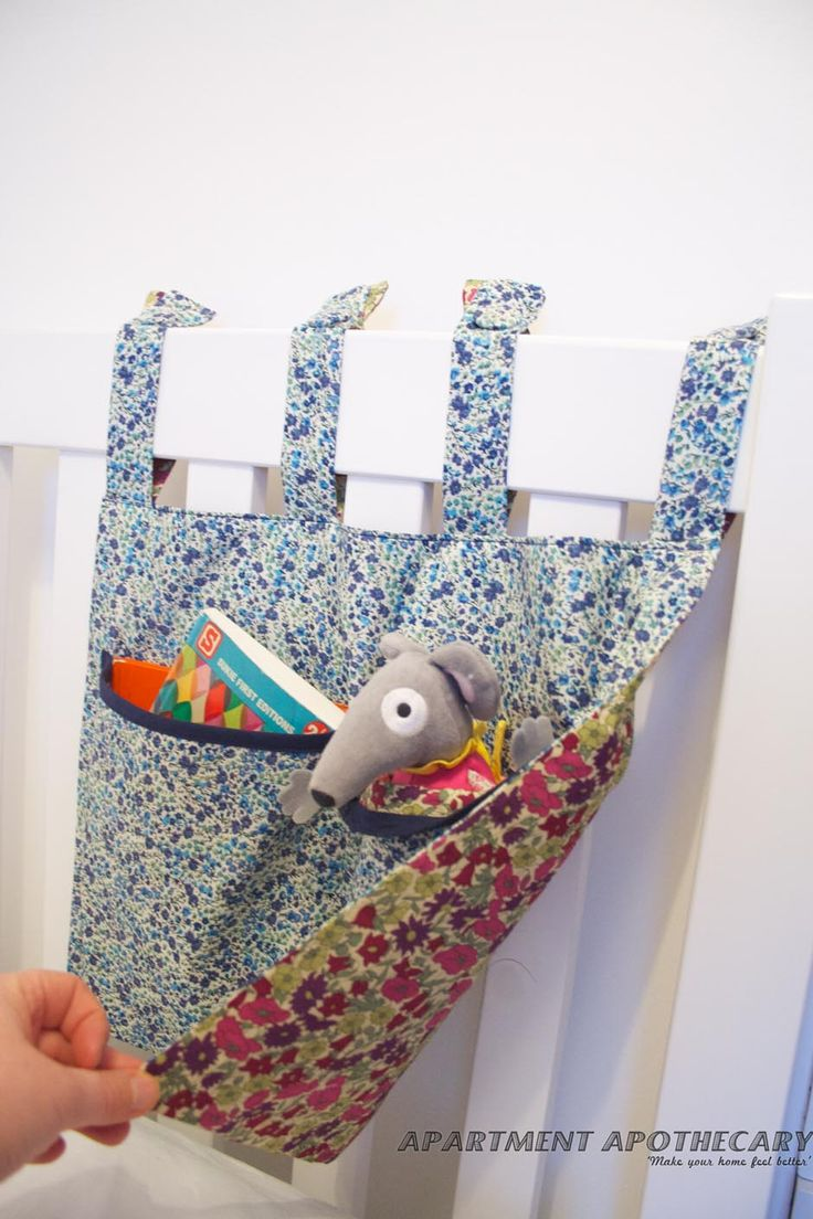 Learn how to make this cot tidy with Katy from@Apartment Apothecary #LibertyPrint