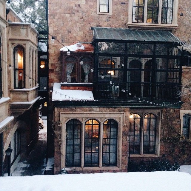 scoutforth:  We're staying at Hogwarts for Life Impact. It's going to be a magical few days. (at The Castle at Glen Eyrie)