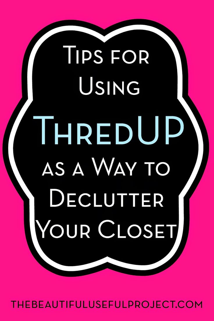 Tips for Using ThredUP as a Way to Declutter Your Closet