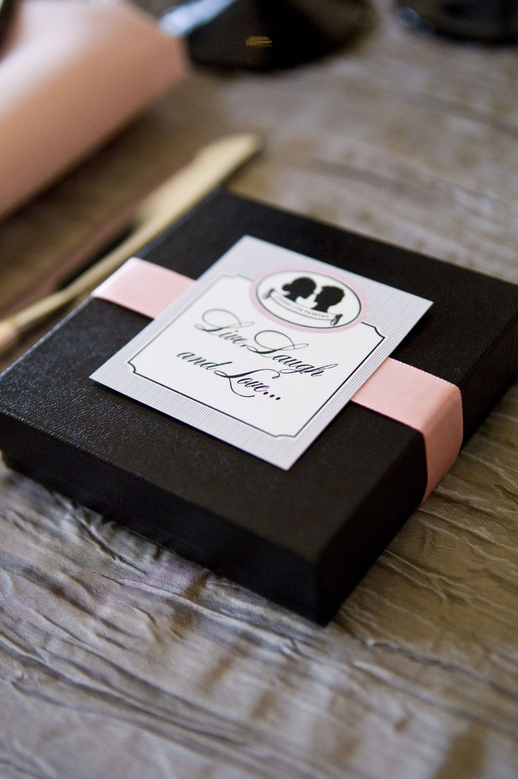Another Elegant Wedding Idea Such Pretty Boxes Tags For Your Party Find This Pin And More On Anything Live Laugh Love