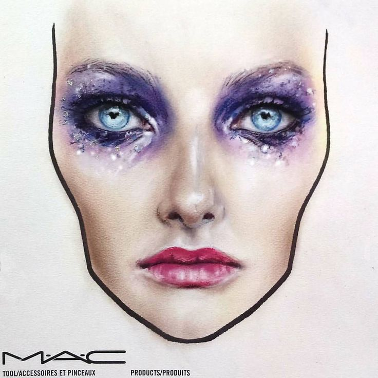 25 best ideas about mac face charts on pinterest face