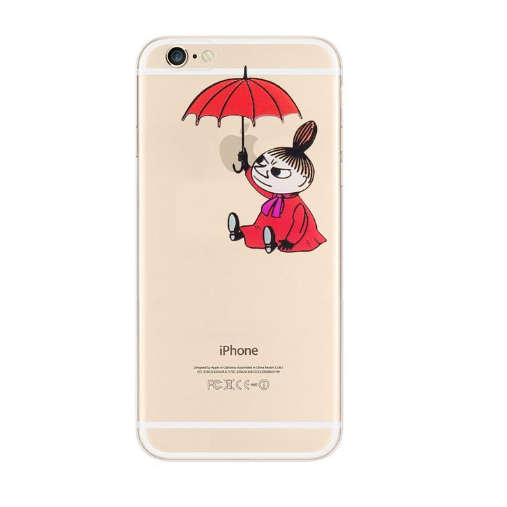 Moomin Little My iPhone 6s 6 Plus Soft Clear Case