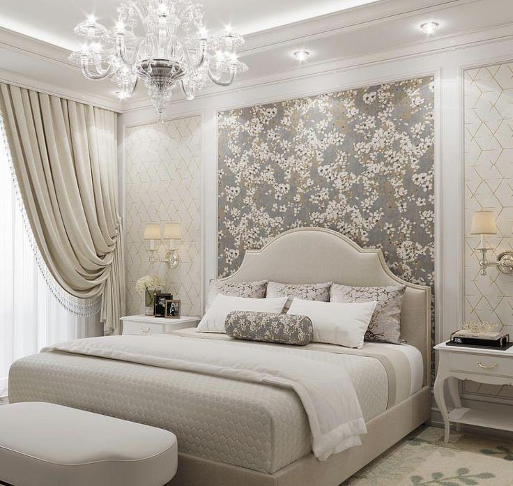 Elegant Beige Bedroom Spalnya Goruntuler Ile Yatak Odasi Ic