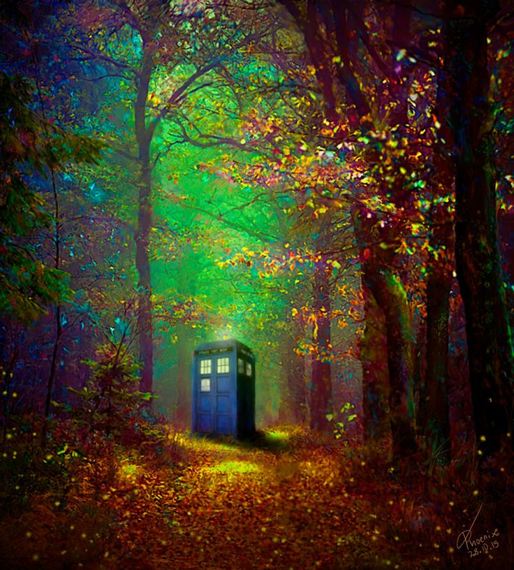 ''Tardis Paradise'' by ASlashPhoenix (deviantART)  (Doctor Who - BBC Series)  source: http://aslashphoenix.deviantart.com/art/Tardis-Paradise-568739118