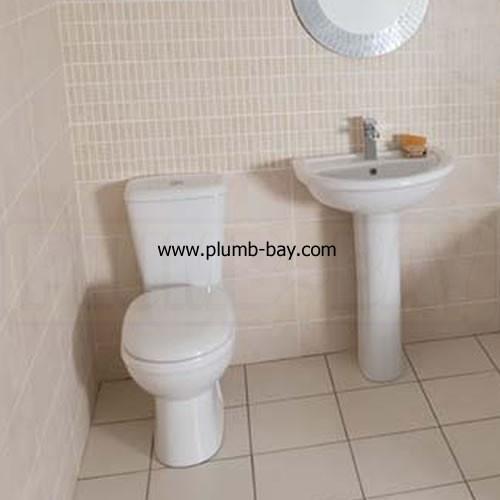 Highlife Skara 4 Piece Bathroom Suite - £185.00  http://www.plumb-bay.com/highlife-skara-bathroom-suite