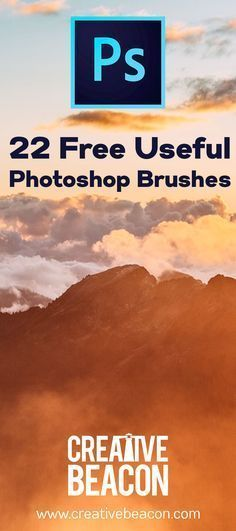 Discover 22 #awesome free #Photoshop #Brushes you can download right now. You'll actually use these!