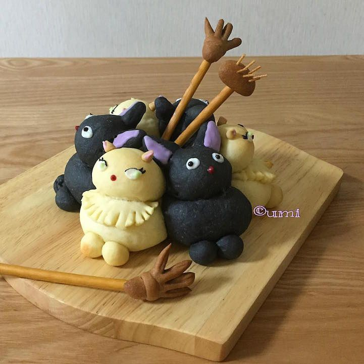 "Japanese ""Chigiri-Pan"" Trend Creates 3D Character Bread Too Cute to Eat - My Modern Met"