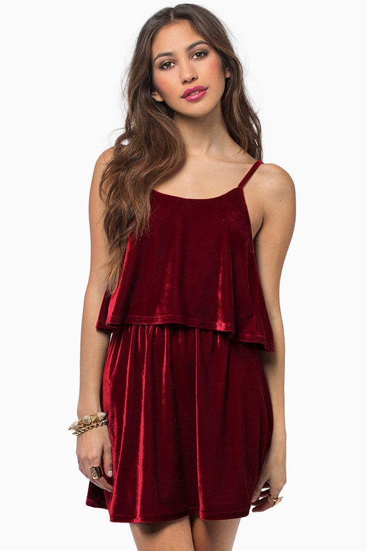 Moonlight Velour Dress at Tobi.com #shoptobi