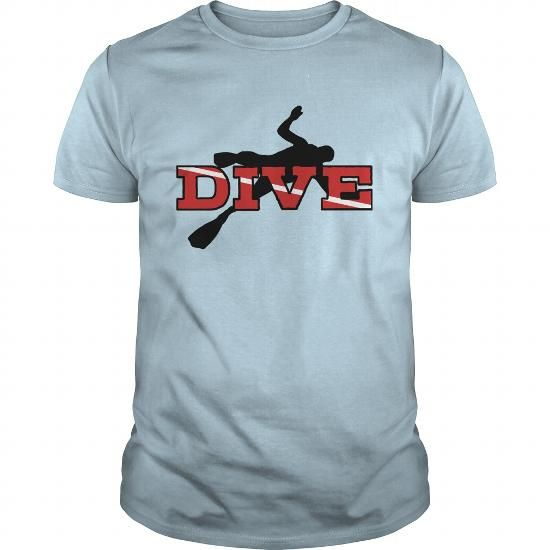 I Love Dive Shirts & Tees