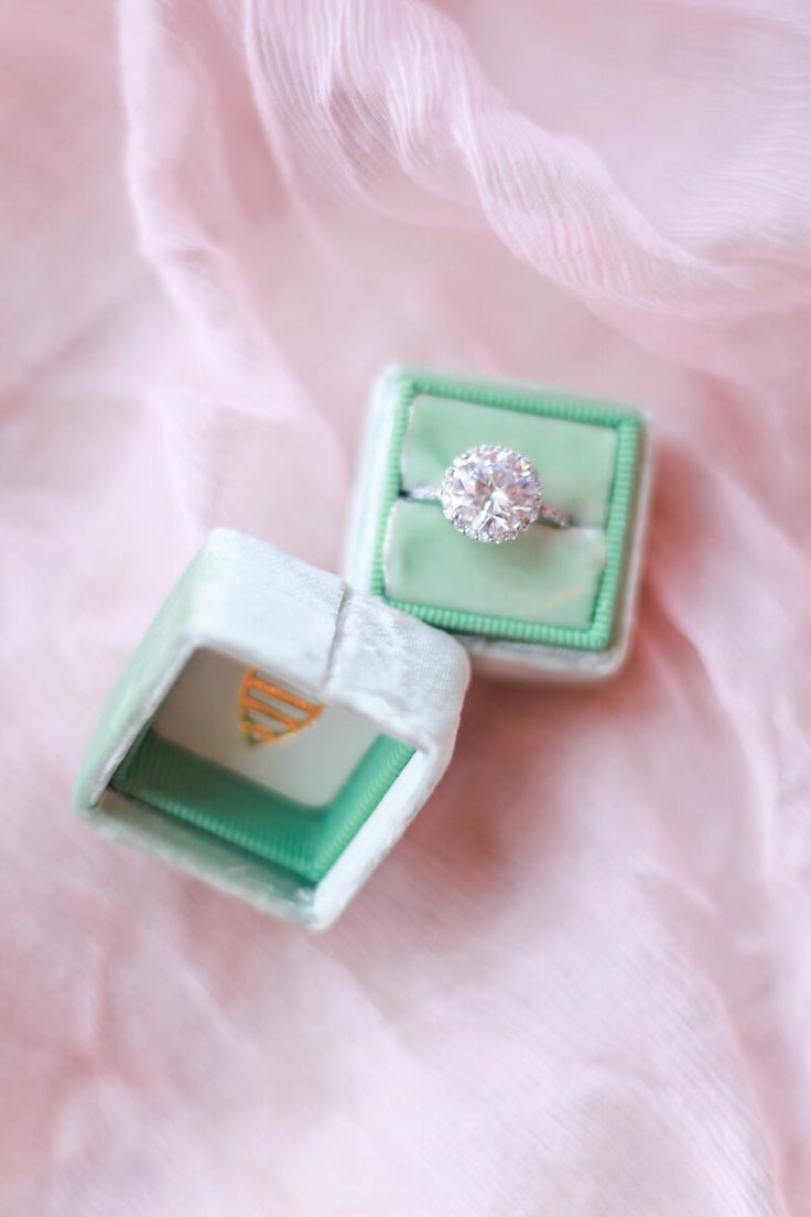Romantic engagement ring - from a berry hued wedding inspiration