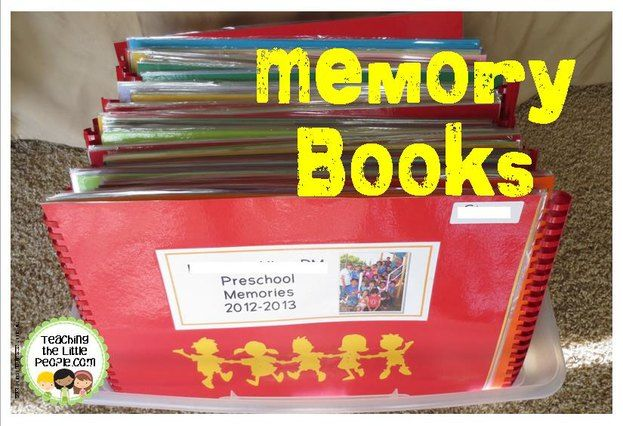 The Memory Books are Done!::Teaching The Little People