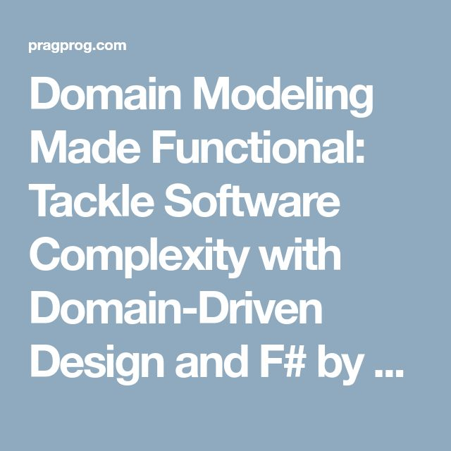14 best christmas 2016 books images on pinterest christmas 2016 domain modeling made functional tackle software complexity with domain driven design and f by scott wlaschin fandeluxe Images