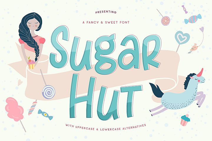 Sugar Hut - Free Font of The Week Font