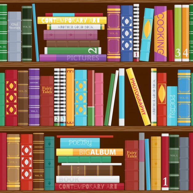 Fondo Inconsutil De Los Estantes De Libr Premium Vector Freepik Vector Fondo Escuela Libro Man Estantes Para Libros Cubierta De Libros Libros Fondos