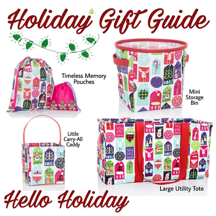 One of each please?!  Love this new Thirty-One Holiday Print!   blessingsbybags.com   #thirtyone #Christmas #blessings