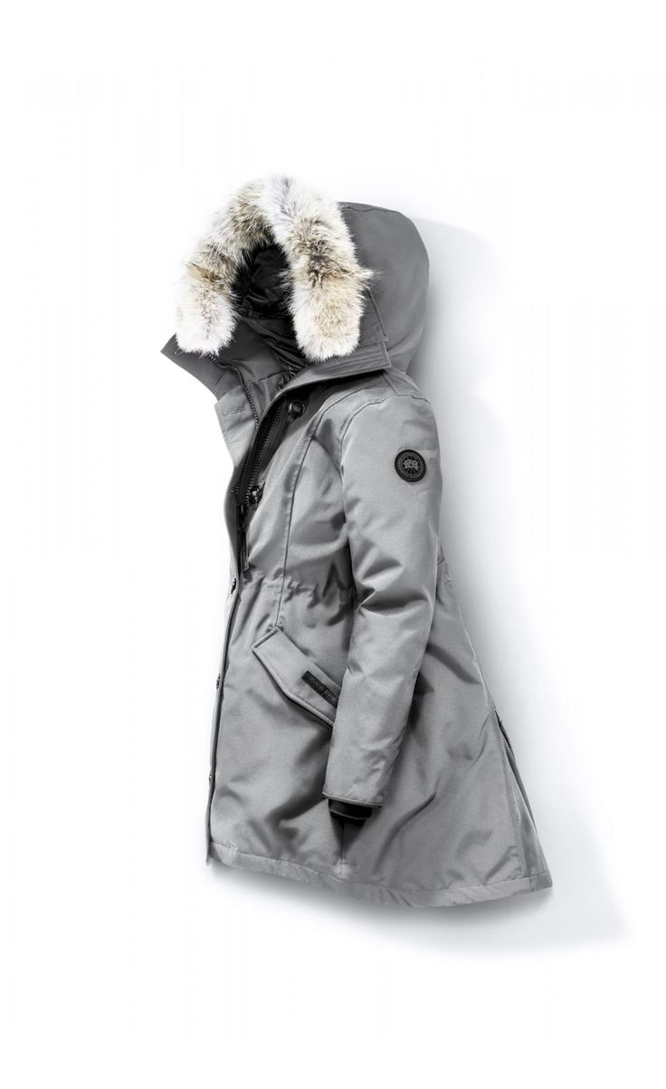 Canada Goose Rossclair Parka Silverbirch Women - Canada Goose #canadagoose #parka #jacket #fashion #Halloween #blackFriday