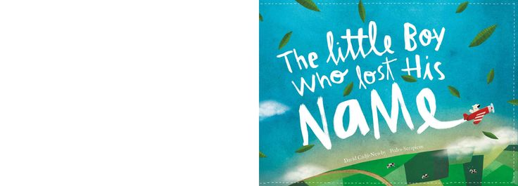 The boy who lost his name ( a personalised book for Tariq!)