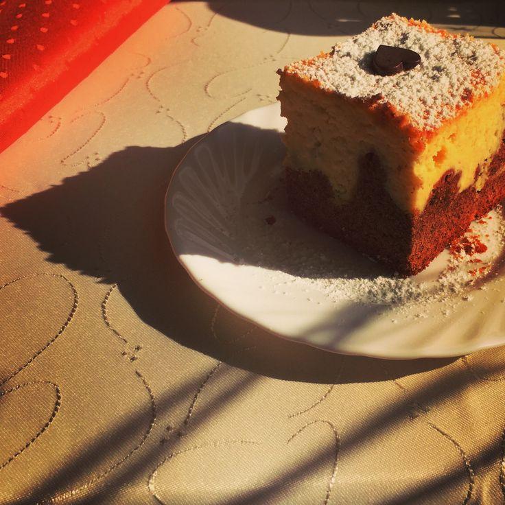 Sernik (z sercem) gotowy! #sernik #wypieki #jedzenie #cake #domowewypieki #tradycja #jedzenia #food