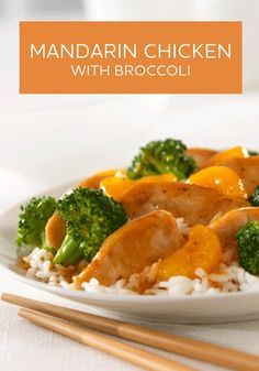 Mandarin Chicken with Broccoli is not only a healthier recipe, but a delicious one too! The only thing standing between you and this dinner is 30 minutes.