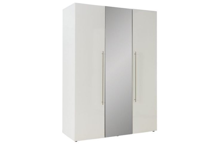 Buy Hygena Atlas 3 Door Mirrored Gloss Wardrobe - White at Argos.co.uk - Your Online Shop for Wardrobes, Bedroom furniture, Home and garden.