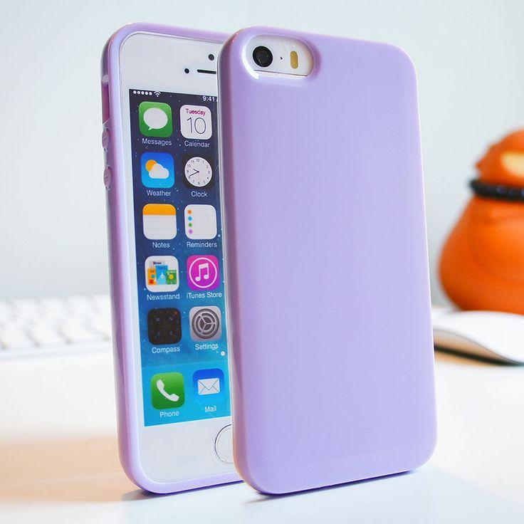 Doux Slim Peau Silicone GEL TPU Coque Pare Chocs Etui Pour Iphone 6 5s 5 5C 4 4s   eBay
