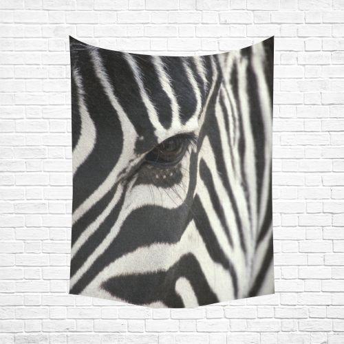 "Zebra Cotton Linen Wall Tapestry 60""x 80"""