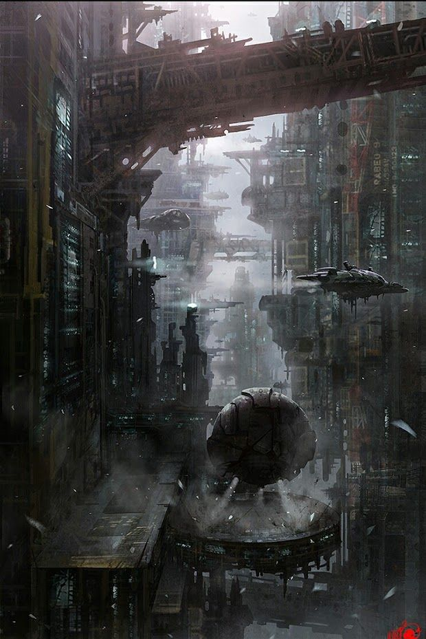 It's my Cake Day so I got a Cyberpunk art dump for you all. - Album on Imgur