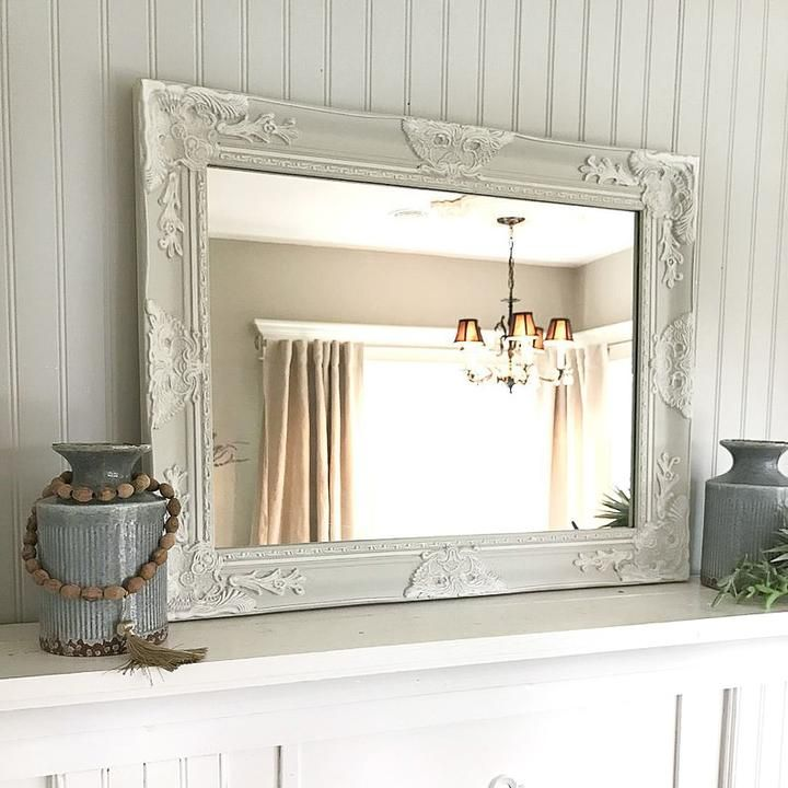 French Farmhouse Vanity Mirror French Country Bathroom Country