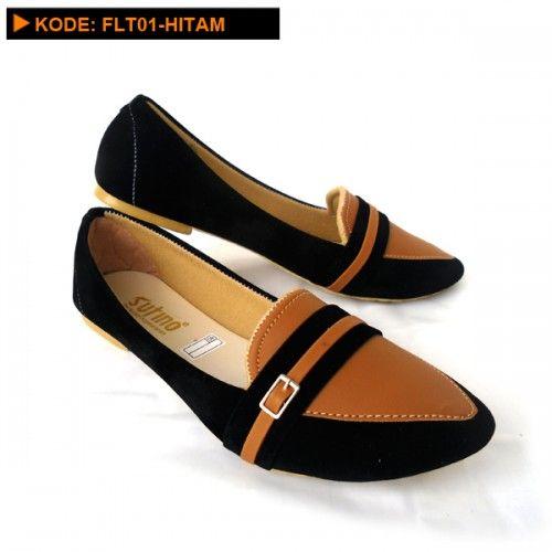 Sepatu flat elegan FLT01-Hitam ini adalah sepatu yang bisa dipakai dalam segala keperluan, bahkan umum digunakan sebagai sepatu sehari-hari.            Untuk pakaian, Sepatu flat elegan FLT01-Hitam initidak pernah memilih jenis pakaian, ...