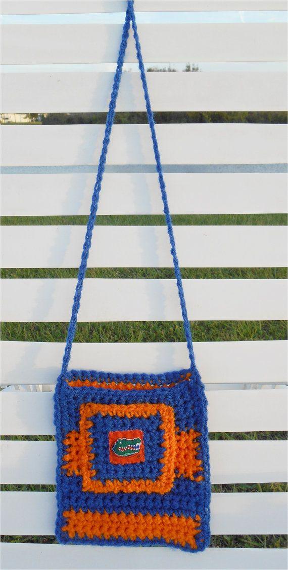 Florida Gators Crocheted Bag  Fundraiser for injured infant.