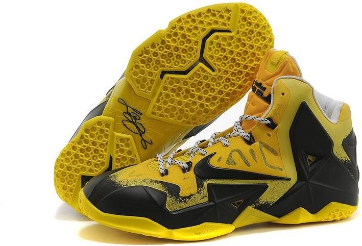 Nike Lebron 11 Yellow Black