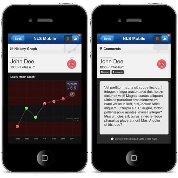 NLS Mobile by Luis M Ruiz, via Behance