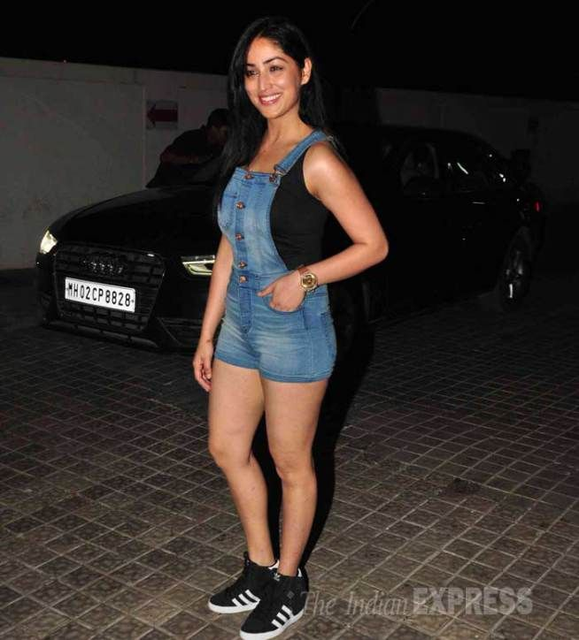 Yami (Yaami) Gautam at the screening of 'Avengers: Age of Ultron'-