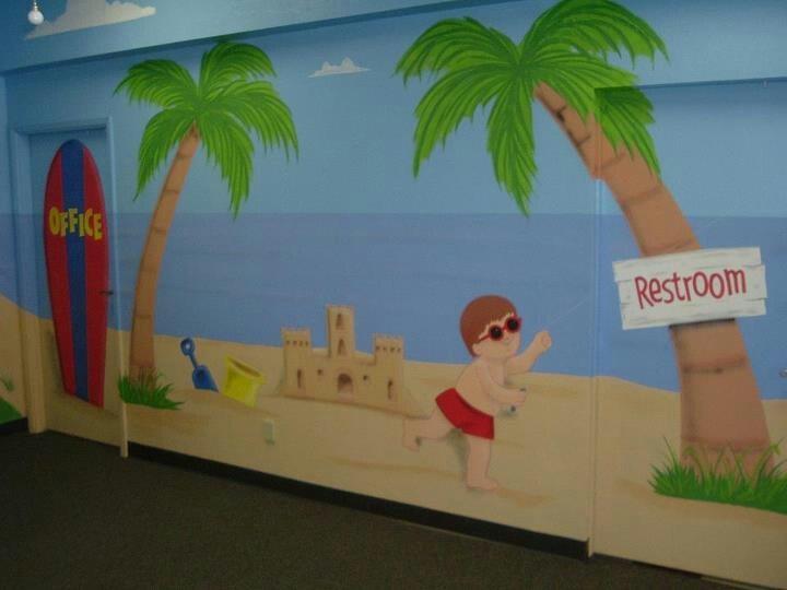Pin de Aryam Tosado en Murales para niños   Remodelación ...