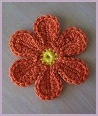 #crochet flower free pattern #tutorial #pattern