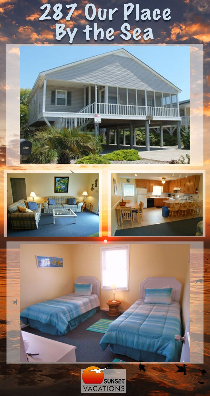 Our Place By The Sea is a budget-friendly, Sunset Beach vacation rental home with 4 bedrooms...and plenty for great space for family time!! Book online today!!!