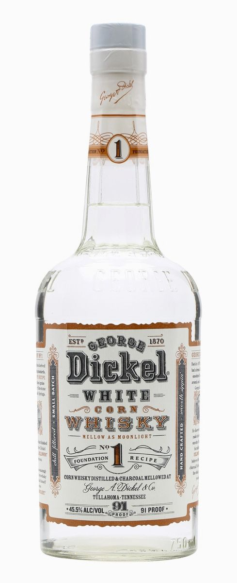 GEORGE DICKEL NO.1 WHITE CORN WHISK, Tennessee